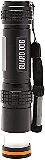 Guard Dog Security Flare Lite 450 lm Long Range Flashlight to Lantern Magnetic Tail Cap, Black