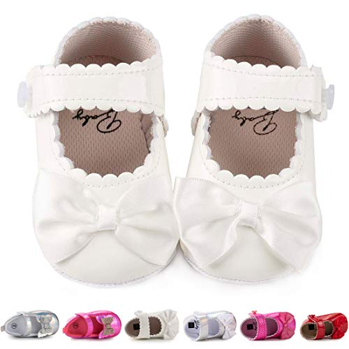 Infant White Shoes Girl