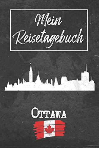 Mein Reisetagebuch Ottawa: 6x9 Reise Journal I Notizbuch mit Checklisten zum Ausfüllen I Perfektes Geschenk für den Trip nach Ottawa (Kanada) für jeden Reisenden