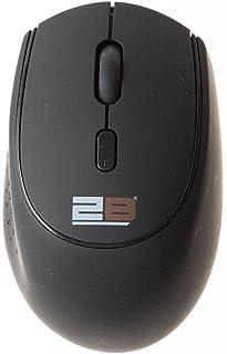 ماوس بلوتوث لاسلكي 3.0 مع بطارية قابلة للشحن داخلية - أسود