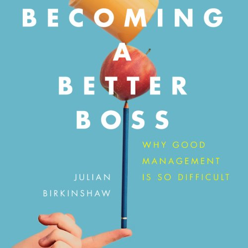 Becoming a Better Boss cover art