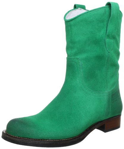 HIP D1887 Green Burned Suede D1887-132-65BS-0000-0000, Damen Stiefel, Grün (Green), EU 42