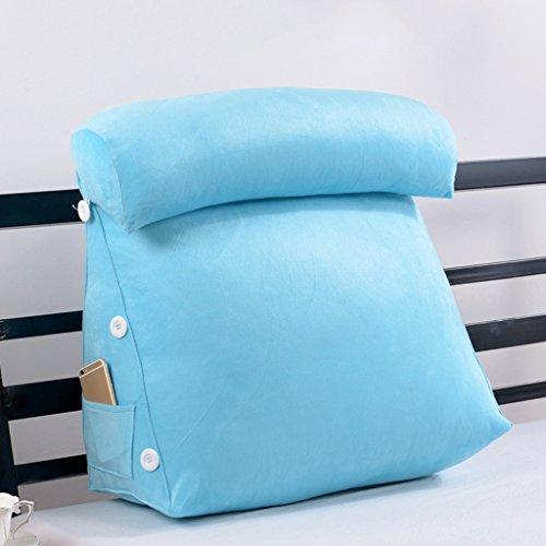 plusieurs tailles oreillers rembourr/és oreiller chambre Triangle canap/é en arri/ère taille : 1m Coussin Triangle- coussins de double t/ête