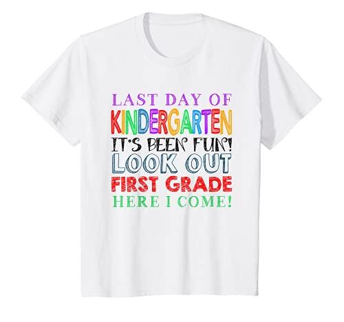 Kids Kindergarten Graduation 1st Grade Here I Come Children T-Shirt