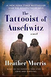 back of couple book cover the tattooist of auschwitz