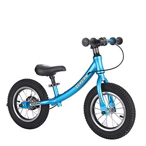 CBPE Balance Bike, Geen Pedaal Verstelbare Wandelen Stalen Balans Training Fiets, Verstelbare Stuur En Zit, voor Kinderen En Peuters 2 3 4 5 6 Jaar Oude Jongens Meisjes