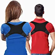 Posture Corrector for Women Men - Posture Brace USA Designed - Adjustable Back Straightener - Comfortable Posture Trainer for Spinal Alignment and Posture Support