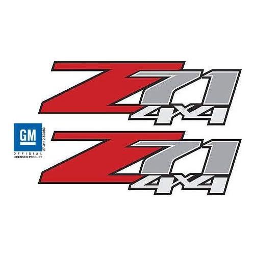 FBLK 2007-2013 Chevrolet Silverado Z71 decals 1500 2500 GM stickers Chevy