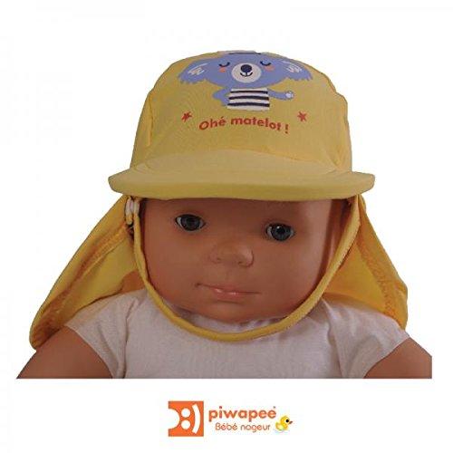 Piwapee - Piwapee-casquette anti uv bebe protection solaire upf50+ ~ koala 6-12mois