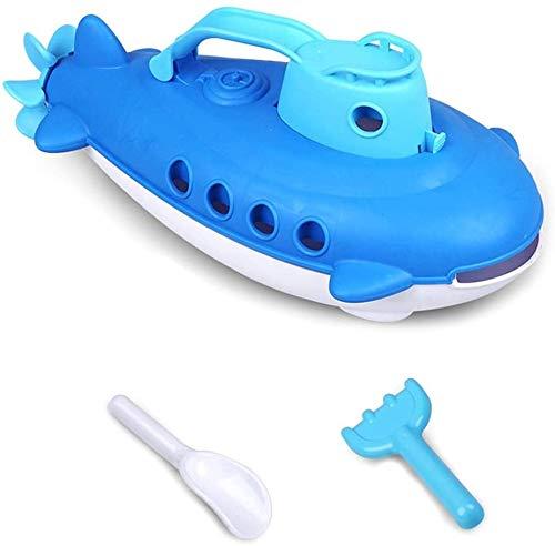 BJINDH Piscina de juguete de baño fresco Juguetes para bebés con olla de barco Pala para niños Playa de juguete para baño Educativo temprano Succión de juguete juguetes para niños Juguetes interactivo