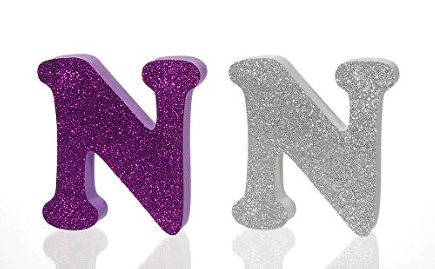 FOAMIES 1058-N Foam Letter Glitter N