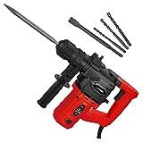 SCHMIDT security tools SDS-Plus Bohrhammer RH-1010 Meißelhammer 1010W 3,5J | Schlagbohren Bohren...