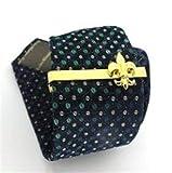 Chenyou Clips de la Novedad Diseño Lazo clásico for Hombres de Cobre Amarillo Calidad de Material Moda alfileres de Corbata Accesorios para Hombres y Mujeres (Metal Color : Gold)
