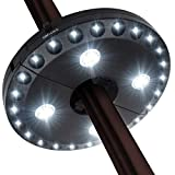Patio Umbrella Light, 28 LED Lights at 200 lumens 3 Lighting Modes Cordless 4 x AA Battery...