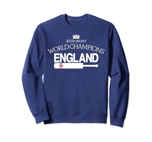 England Cricket (2019 Weltmeister mit Schläger) Sweatshirt