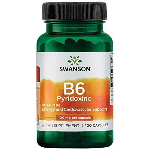 Swanson 100Mg Vitamina B6 Piridossina 100 Capsule - 100 g