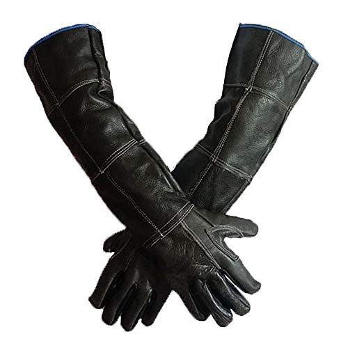 Pet Bissfeste Handschuhe Tierhandhabungshandschuhe Bissfeste Schutzhandschuhe für Hunde, Katzen, Vögel, Schlangen, Papageien, Echsen, Reptilien, Badepflege