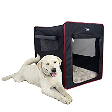 Petsfit 30x21x26 Inches Foldable Cat Kennel,Cat Cage,Dog Kennel,Lightweight Pet Kennel