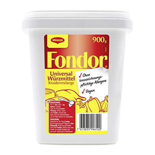 Maggi Fondor Universal-Würzmittel o.k.A., vegane Würzmischung, 1er Pack (1 x 900g Gastro Box)