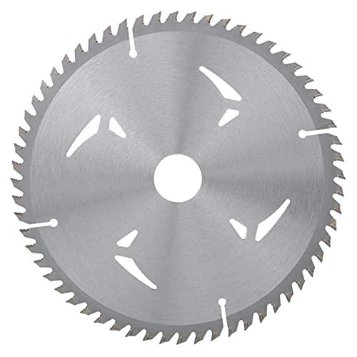 Kreissägeblatt, Holzschneidscheibe, 1 PC 7 Zoll 60T Legierung Kreissägeblatt Holzschneidwerkzeug Bohrungsdurchmesser 25,4 mm