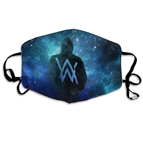 Mundschutz Gesichtsbedeckung Alan-Walkers Face Bequeme atmungsaktive Wiederverwendbare Gesichtsbedeckung-Gesichtsdekorationen-7PO