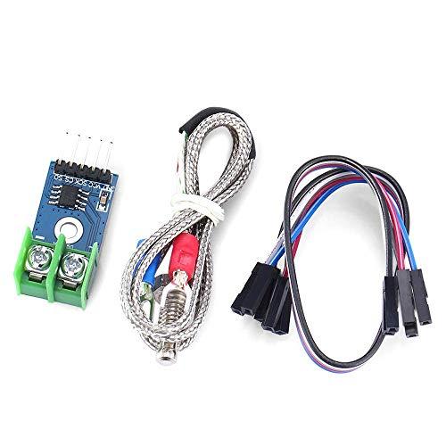 ZJN-JN MAX6675 Type K Thermocouple Temperature Sensor Module 0-1024'C Temperature Testing Range for Raspberry Pi printer accessories PC Accessories