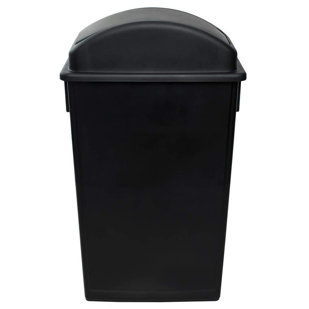 10 Pack Inexpensive 92 Qt. 23 Gallon Liters 87 Black New item Slim Rectangular T