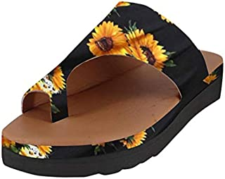 Sunyastor 2019 New Women Comfy Platform Sandal Summer Beach Comfortable Ladies Shoes Travel Shoes Roman Slippers Sandals