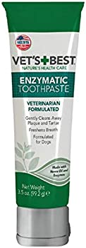 Vet's Best Enzymatic Teeth Cleaning and Fresh Breath Dog Toothpaste