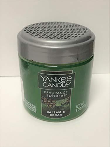 Yankee Candle Balsam & Cedar Fragrance Spheres, Festive Scent