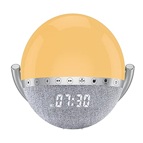 Despertador Luz Natural  marca LEMEGA