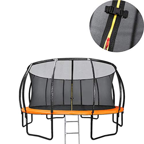 6Ft Trampoline with Safety Enclosure, Net, Ladder and Anchor Kit, Children Adult Trampoline