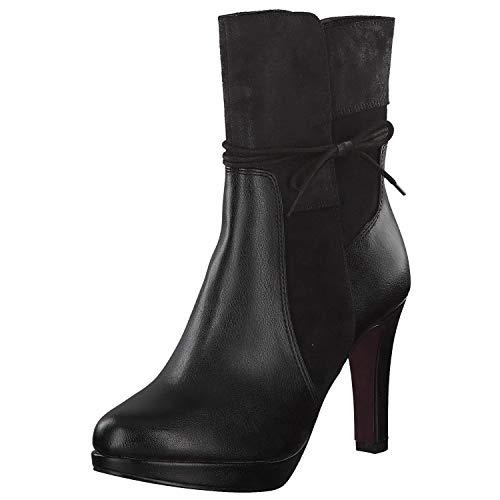 s.Oliver 5-25343-21 Damen Stiefelette Black, EU 38