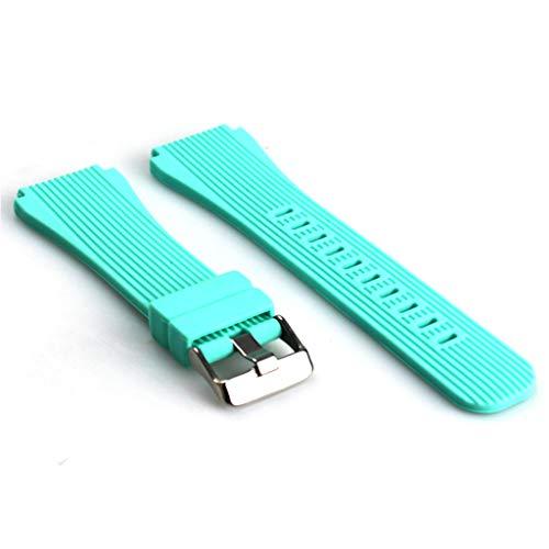 Correa De Muñeca De Repuesto De Silicona De 22 Mm Compatible con -Samsung -Galaxy Watch SM-R800 / Gear S3 Frontier Watch