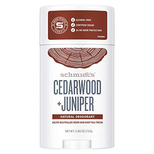 Schmidt's Deodorant Stick Cedarwood & Juniper, 75 g