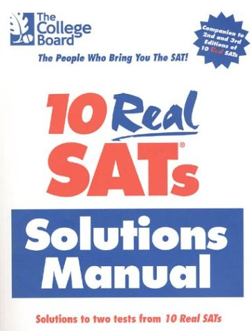 Download 10 Real Sat Solutions 0874477042