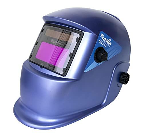 Cevik ce-pe600s–PANTALLA DE SOLDADURA Reg.9–13Modi Color Azul