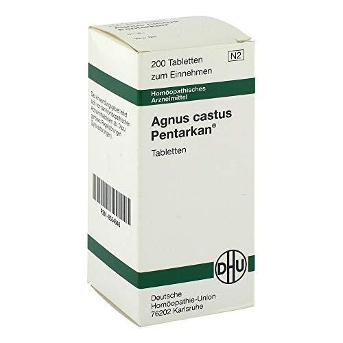 DHU Agnus castus Pentarkan bei Zyklusstörungen, 200 St. Tabletten