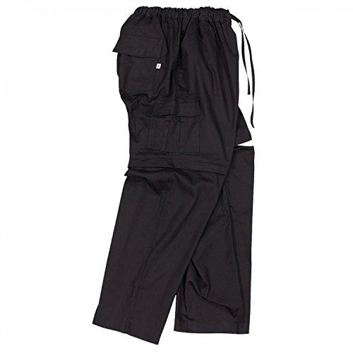 Abraxas Zipp-Off-Hose in schwarz Übergröße 12XL, Größe:8XL