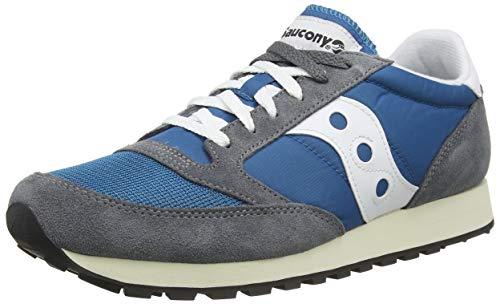 Saucony Jazz Original Vintage, Zapatillas de Cross Unisex Adulto, Azul (Castlerock/Teal 20), 40 EU