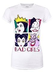 Camiseta Chica Disney Bad Girls - M