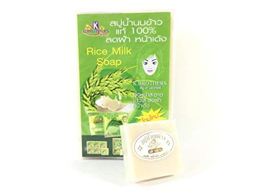 Milky Thai Jasmine Rice Milk Soap 60g