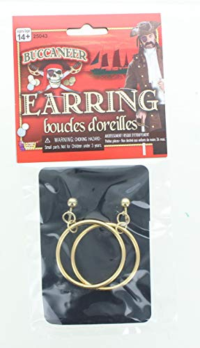 Forum Novelties Pirate Adult Costume Earrings