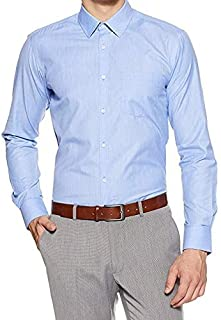 Vogueman Men's Cotton Formal Full Sleeve Regular Fit Shirt