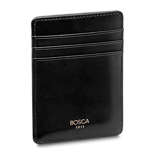 Bosca   Men's Deluxe Front Pocket Wallet in Italian Old Leather