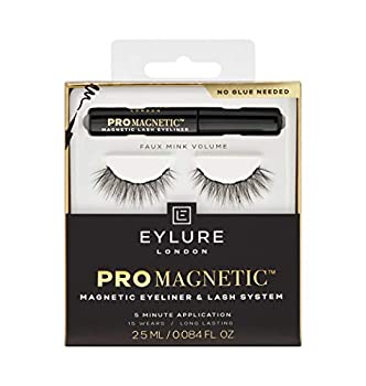Liquid Magnetic Eyeliner & Volume Lash System By Eylure - The Promagnetic Eyeliner & Lash System Allows You To Apply Magnetic Volume Lashes With ease – No Need for Glue! black  6002376-USN