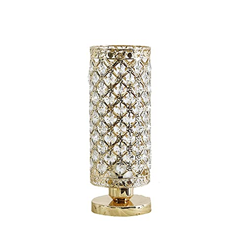 HEIYANQUANTD Lampada Da Comodino Lámpara de Escritorio de mesita de Noche Decorativa Ambiental Luz de Noche de Noche Moderna Lámpara de Mesa pequeña lámpara de Mesa de Cristal para Dormitorio