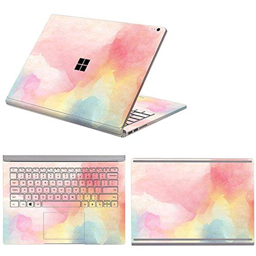 Full Body Cover Stickers for Microsoft Surface Book 3 Book 1/2 13.5 15 Inch Waterproof Decorative Laptop Protector Shell Skin-Option 10-Book 3 15 i7