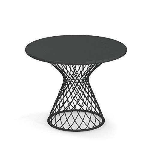 emu Heaven Garten-Beistelltisch Stahl Ø60cm, antikeisen lackiert H x Ø 47x60cm