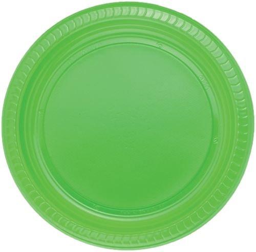Plaque en plastique verte, 25 pcs